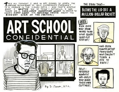 Art School Confidential by Dan Clowes