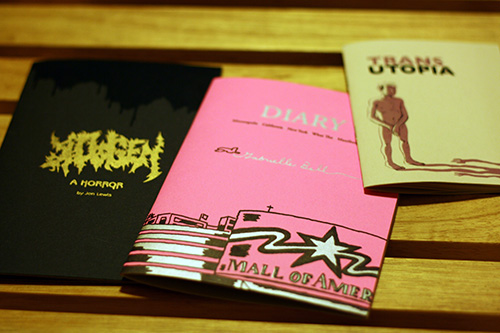 uncivilized books at brooklyn comics and graphics festival