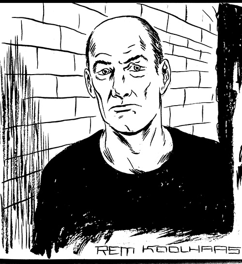 rem koolhaas by tom kaczynski