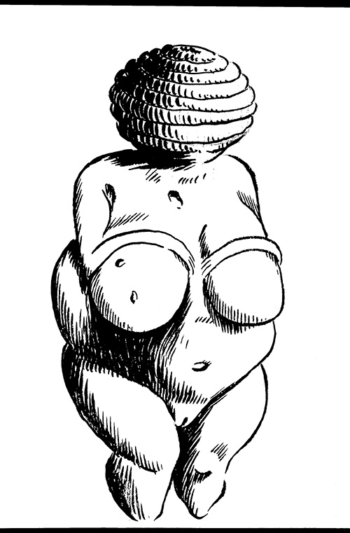 Willendorf Venus by Tom Kaczynski
