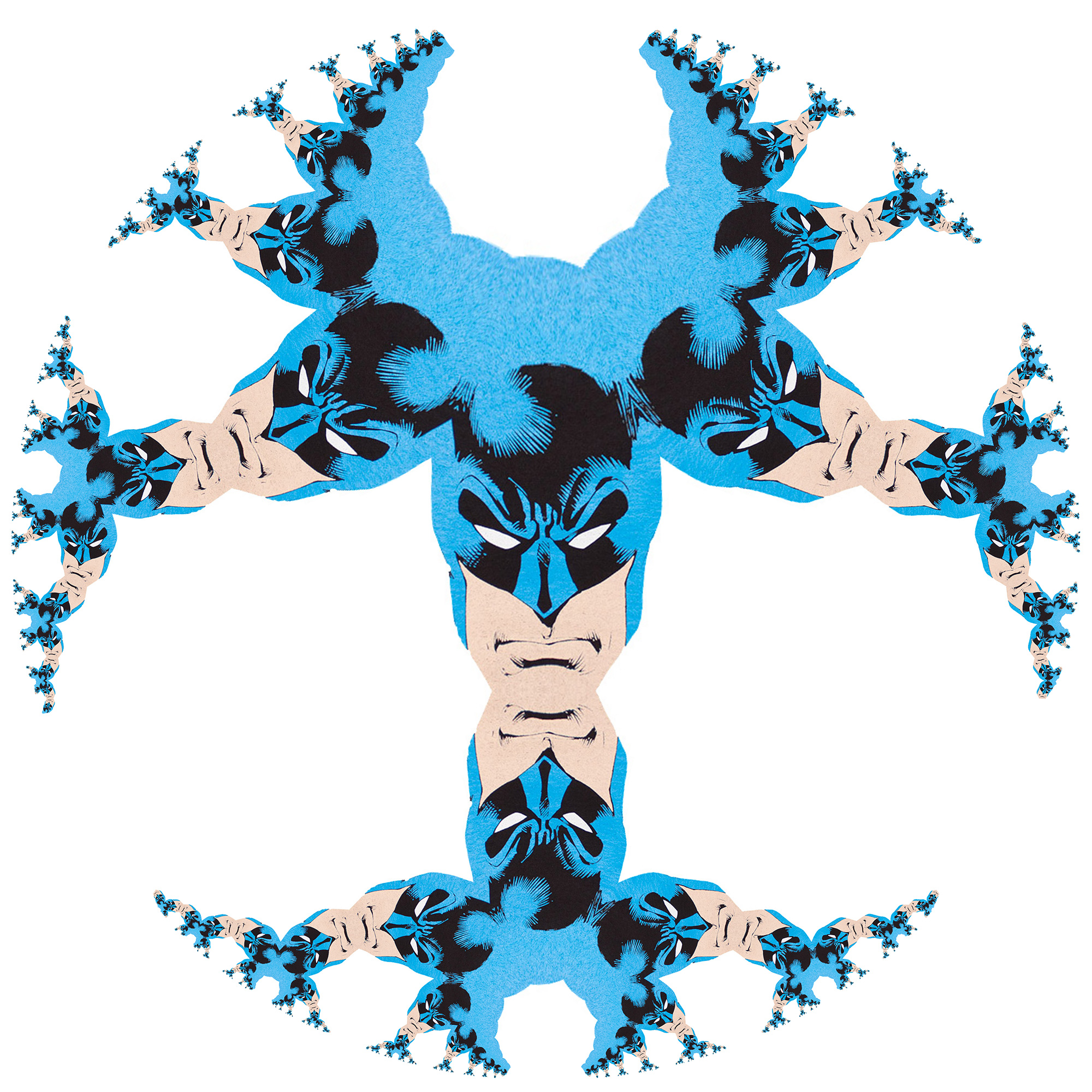 Pawn of the Demon: Batman and the Fractal Self-similarity of