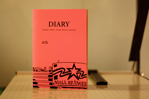 Diary by Gabrielle Bell
