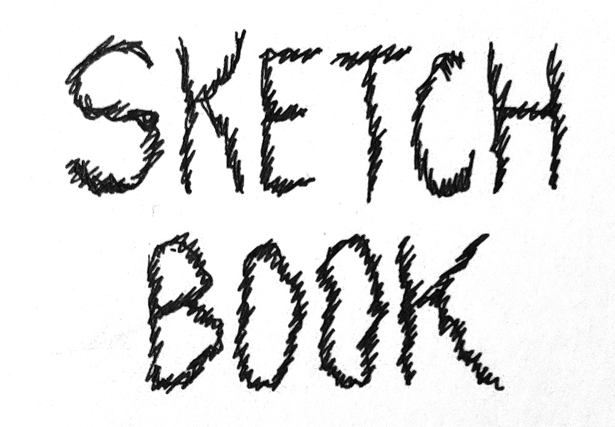 sketchbook by tom kaczynski